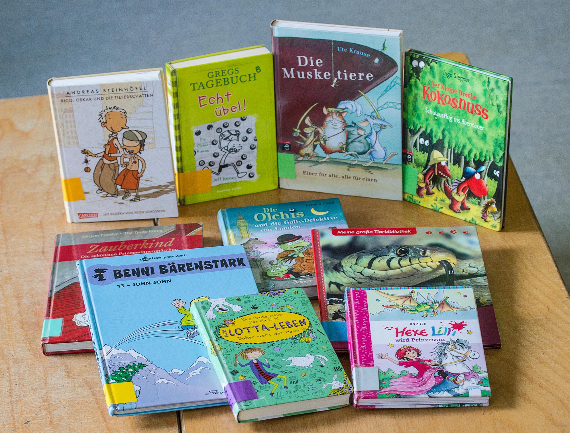 Bücher für die Bücherei