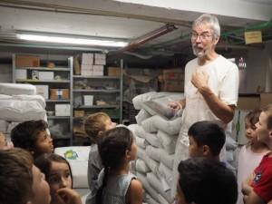 Herr Wenning weiß viel über die Mehlsorten.