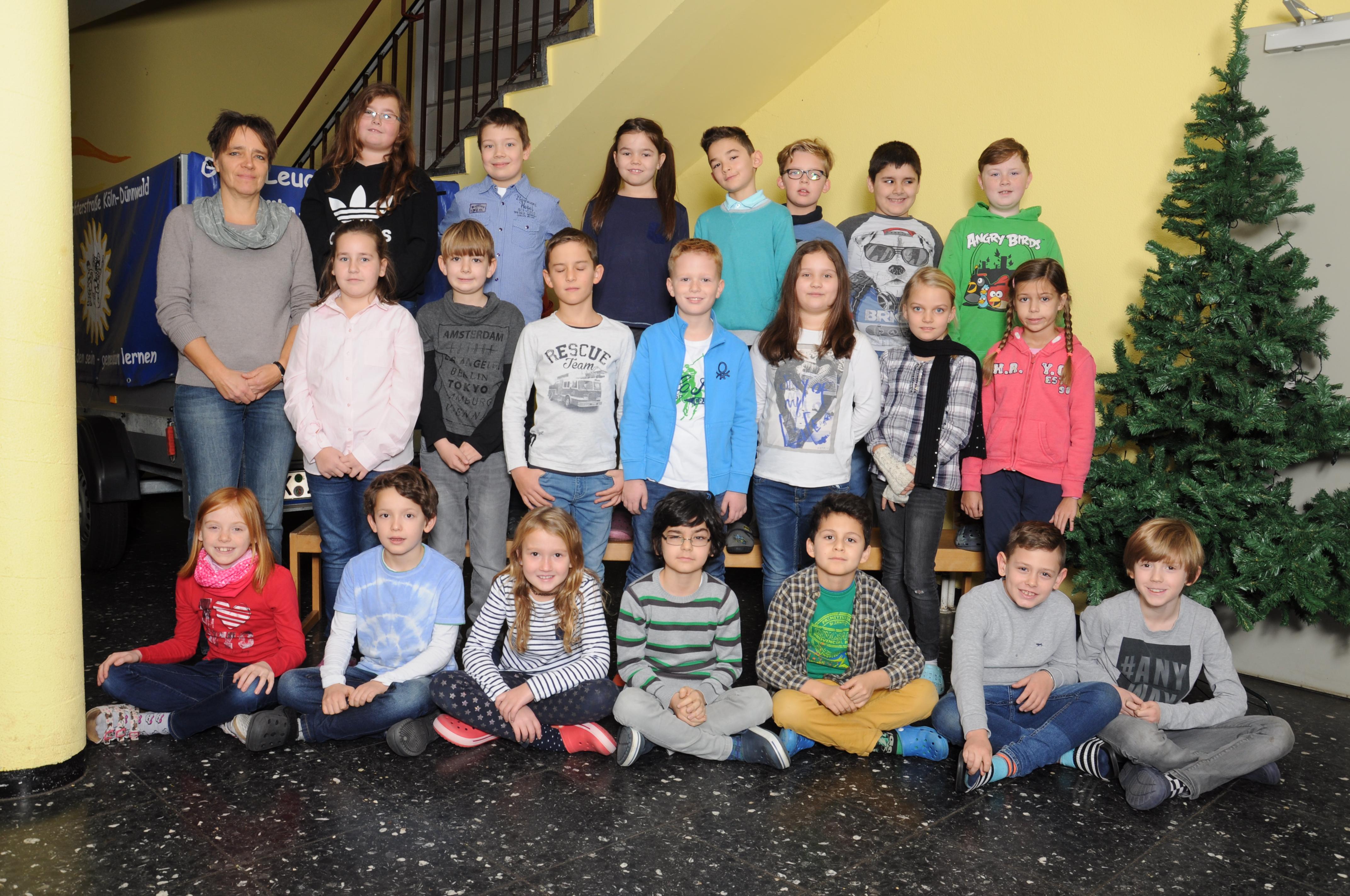 Klasse 4a mit Frau Schenk-Sachmann